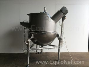 Giusti 500 Liter Stainless Steel Jacketed Kettle