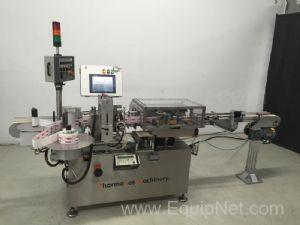 DL Tech Aesus H400 Single Head Pressure Sensitive Labeler