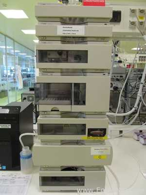 Agilent 1100 Series HPLC System with MWD