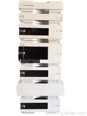 Agilent 1200 Series HPLC RID, Isocratic Pump, ALS, FC ALS, TCC, Col Comp, Degasser