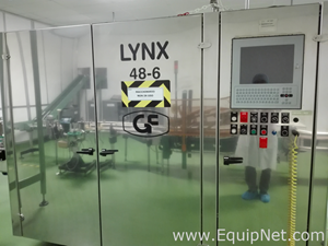GF Industries LINX 48-6 Vials Inspection Machine for 50, 100, 250 and 500 ml