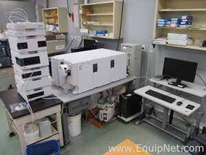 Agilent Technologies 6410A Triple Quad Mass Spectrometer With Agilent 1200 HPLC and DAD Detector