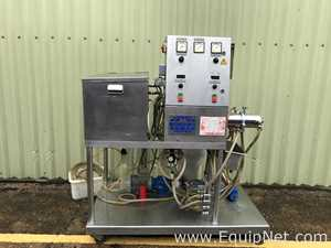 Mondomix A 05 Stainless Steel Lab Size Mixer with Tank and Pump