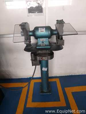 Pedestal Grinder with two Abrasive 8 inches Wheel