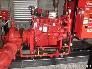WB Van Wijk Boema WB882 D20 Skid mounted Diesel Engine Powered Centrifugal Fire Pump
