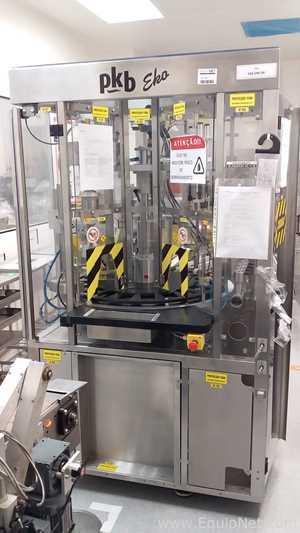 Kombination Monoblock-Befüller-Verschlussmaschine PKB Machines EKO