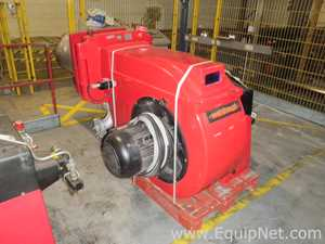 Weishaupt RGL 70 1A Steam Boiler Dual Fuel Oil and Gas Fired Burner Unit