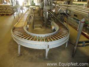 Approx 30 Feet Power Roller Conveyor