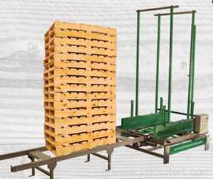 Verschiedene Anlagenausrüstungen GR MAQUINARIA PARA PALLETS GR2021-02