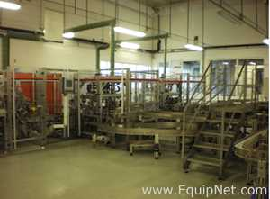 PAAL Verpackungsmaschinen ELE 1000 HC-CBI6 Vertical Cartoner For Sachets of Milk Powder and Coffee