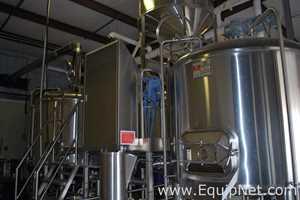 Equipo para elaboración y destilación de cerveza ABS
