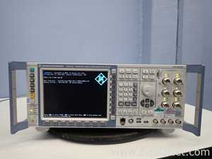 Rohde and Schwarz CMW500 Wideband Radio Communication Tester