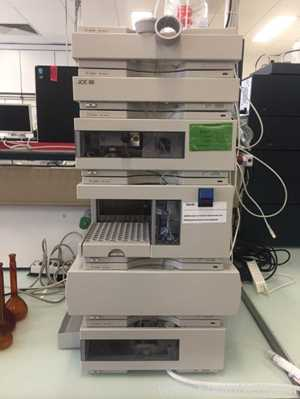 Agilent Technologies 1100 Series HPLC System with VWD Detector