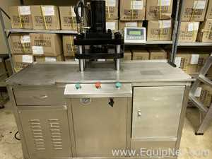 Guangzhou Beyer Machinery Equipment Semi Automatic Cosmetic Powder Pressing Machine Press