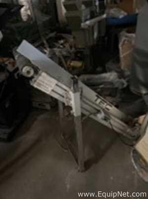 TEC Engineering H/I 1845 Aluminium Straight Belt Conveyor