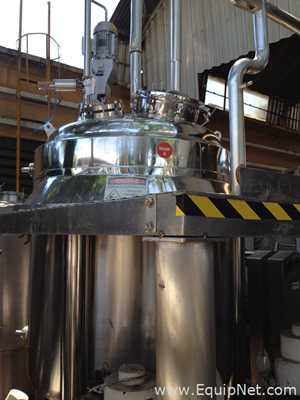 Stainless Steel Reactor 2000 L Bufalo Inox