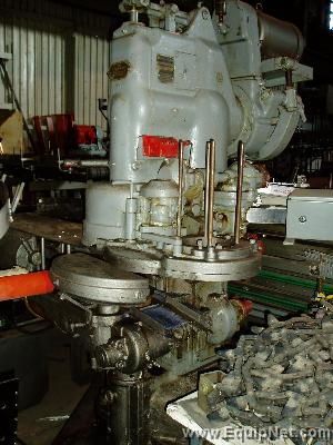 Continental Can Co Single Head Atmosphere Can Closing Machine