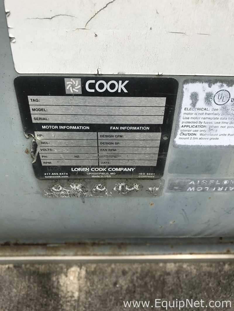 Cook 225OMX Blower Listing #595374