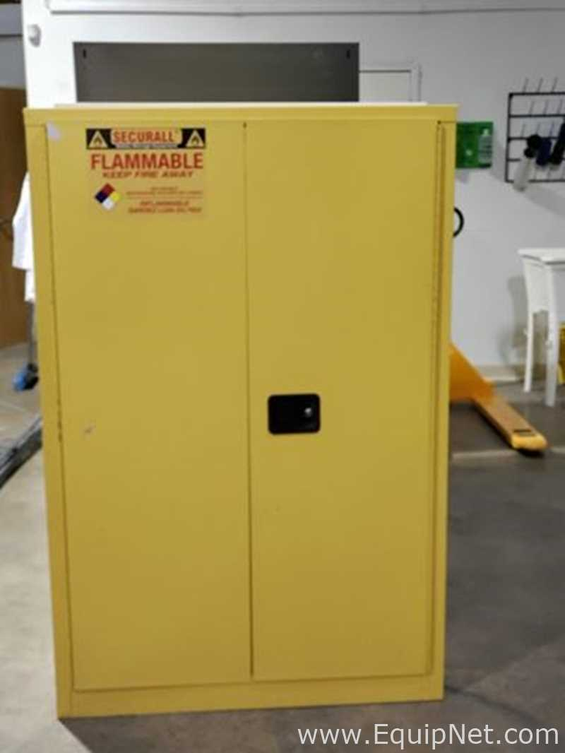 45 Gallon Securall Flammable Storage Cabinet Listing 711648