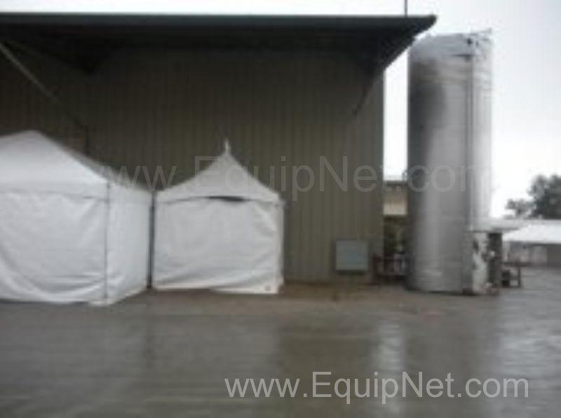 NEW SAVERY USA 6,000 Gallon Stainless Steel Silo Tank