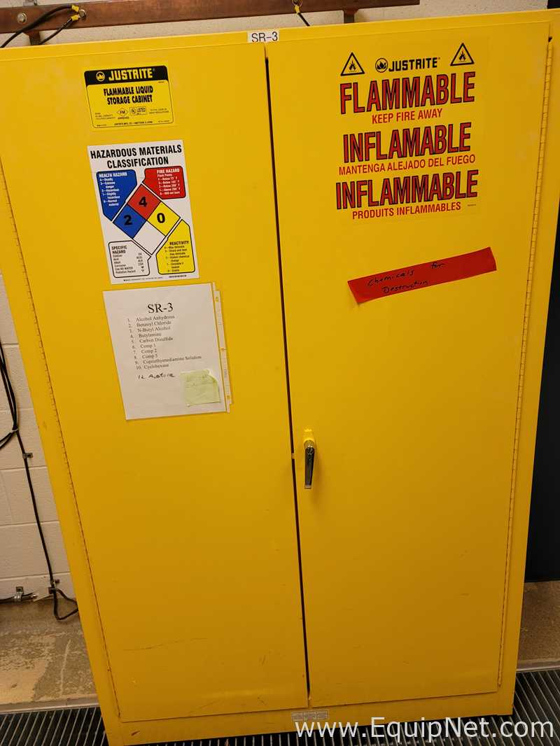 Justrite 45 Gallon Flammable Storage Cabinet Listing #674194
